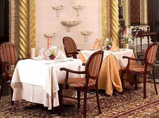 Ресторан Вилла Аю Даг - фотография 2 - Фонтан!