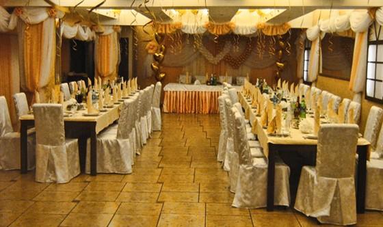 Ресторан Золотое время - фотография 3 - Банкетный зал Золотое Время