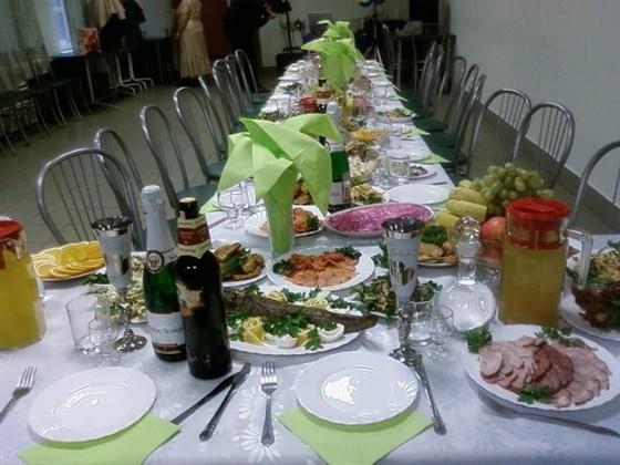 Ресторан Аст-Волга - фотография 2 - День рождения.