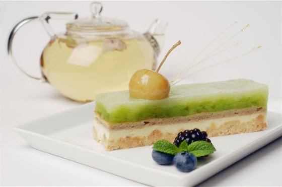 Ресторан Макао - фотография 4 - Яблочное пирожное 150р