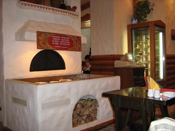 Ресторан Любо-дорого - фотография 1 - Печка с салатами