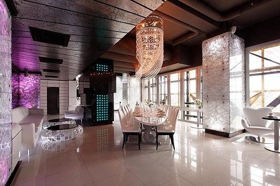Ресторан Sky Lounge - фотография 12 - Sky Lounge Пентхаус 23 этаж
