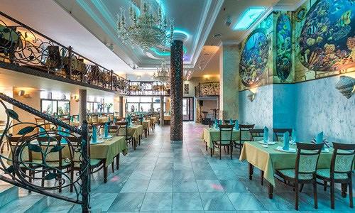 Ресторан Аквариум - фотография 5 - Интерьер зала.