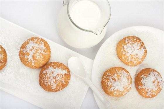 Ресторан Мюнгер - фотография 13 - Кокосовое печенье.