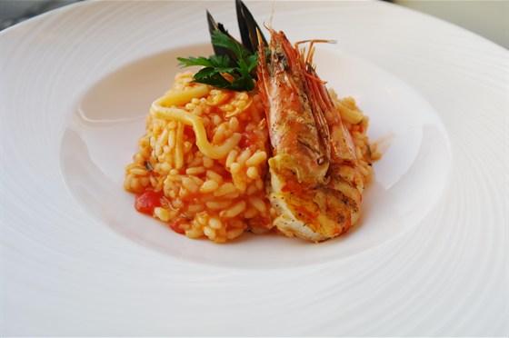 Ресторан Бенуа - фотография 19 - Ризотто с морепродуктами