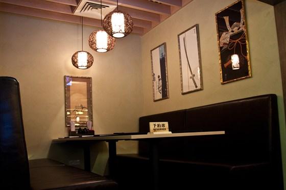 Ресторан Мидори - фотография 10 - Зал японской кухни