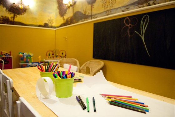 Ресторан Труффальдино - фотография 8 - Детская комната