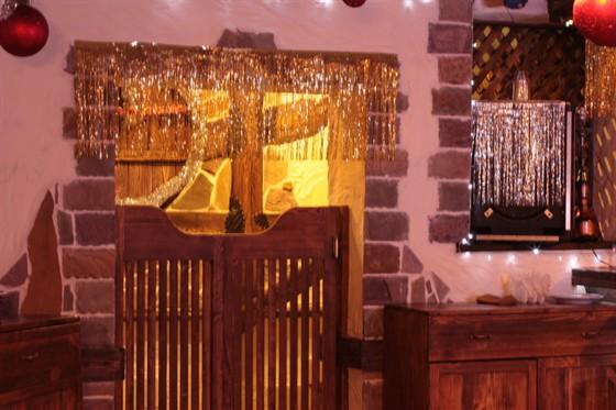 Ресторан Рассвет - фотография 2 - Вход в зал