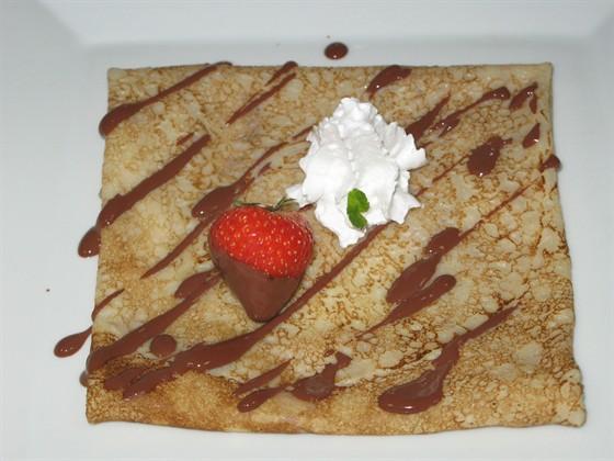 Ресторан Пралине - фотография 16 - Креп с шоколадом