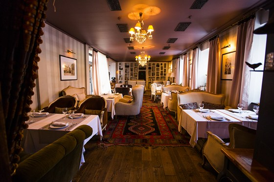 Ресторан Sorbetto - фотография 23 - Гостиная.