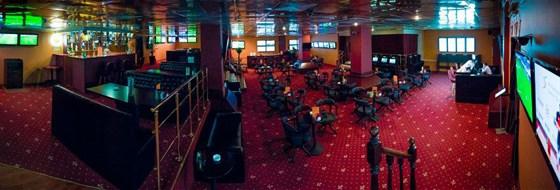 Ресторан Zidan - фотография 1 - Спорт-бар зал