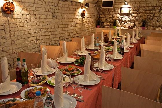 Ресторан Мимино - фотография 7 - Банкет