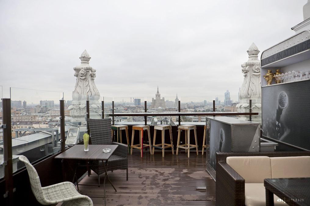 Ресторан Timeout Rooftop Bar - фотография 9