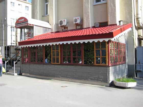 Ресторан На всю Ивановскую - фотография 2 - На всю Ивановскую. Летнее кафе.