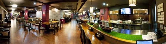 Ресторан Офис-клуб - фотография 1 - Основной зал.