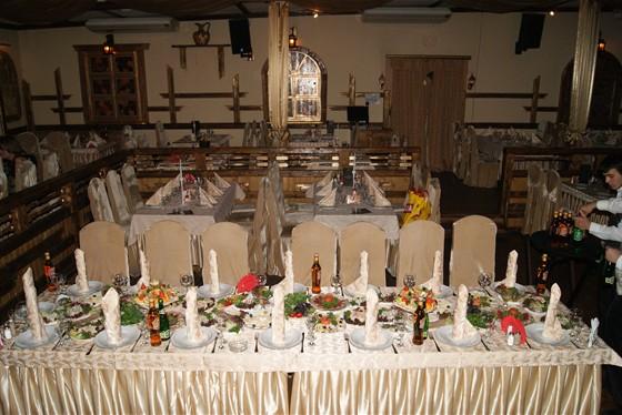 Ресторан Орлов - фотография 6 - Накрытый бпнкет