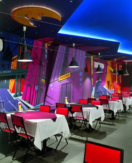 Ресторан Папа Джем - фотография 3 - Главный зал