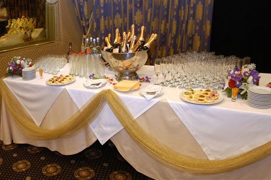 Ресторан Bellagio - фотография 5 - БАНКЕТНЫЙ ЗАЛ