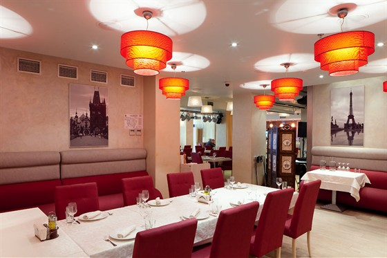 Ресторан Ардженто - фотография 3 - Кафе Ардженто Банкетный зал