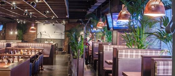 Ресторан Посадоффест - фотография 3 - Основной зал