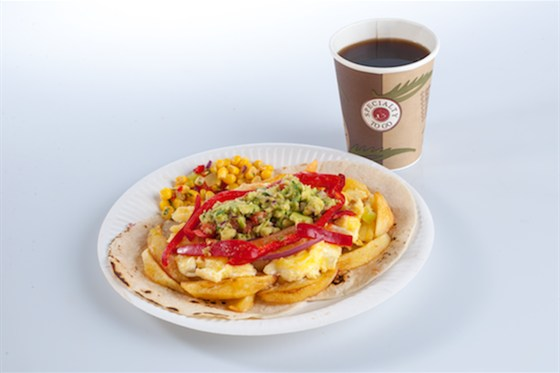 """Ресторан Такорама - фотография 8 - """"ТакоЗавтрак"""": Яйца Ранчерос и кофе"""