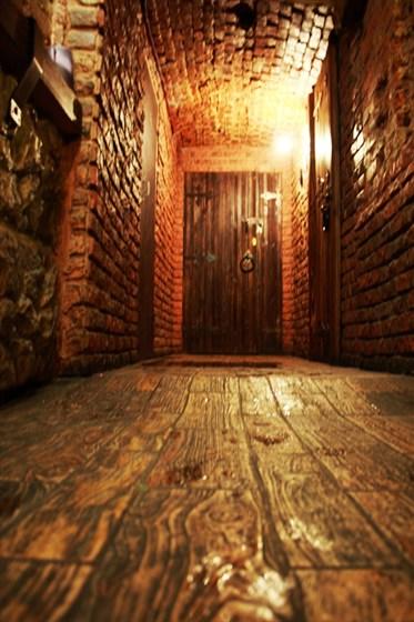 Ресторан Волшебный вкус - фотография 2 - Проход в зону Chillout