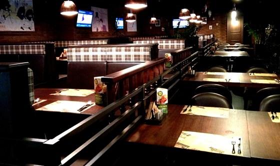 Ресторан Посадоффест - фотография 5 - Чилаут зона