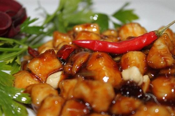 Ресторан Норд стар - фотография 10 - Курица Гунбао