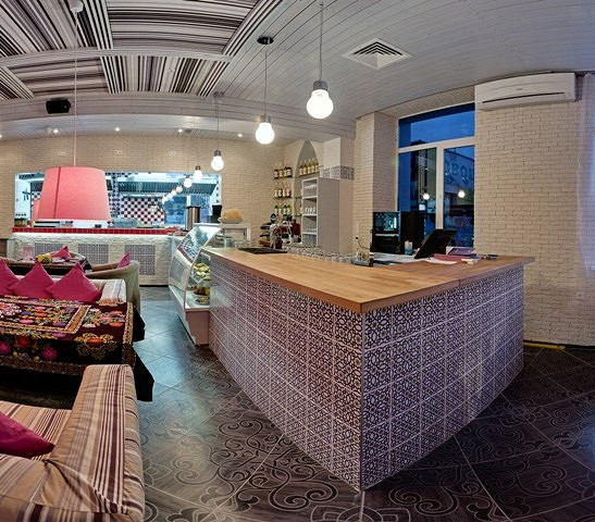 Ресторан Махалля - фотография 2 - Бар