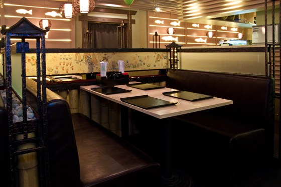 Ресторан Мидори - фотография 8 - Зал японской кухни