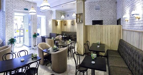 Ресторан Пшеница - фотография 5 - Курящий зал