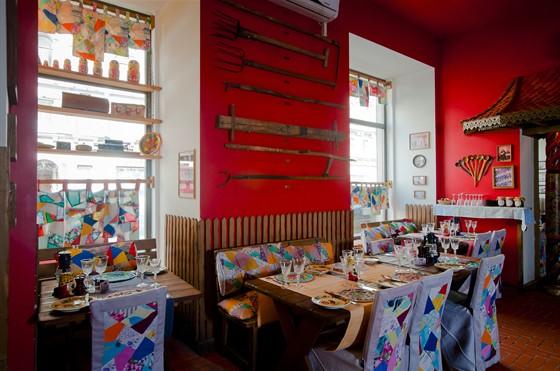 "Ресторан На здоровье! - фотография 11 - Зал ""Хохлома"""