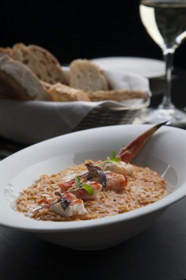 Ресторан Оливетта - фотография 9 - Рисони с крабом