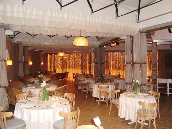 Ресторан La terrazza - фотография 22 - Вечерняя терраса.