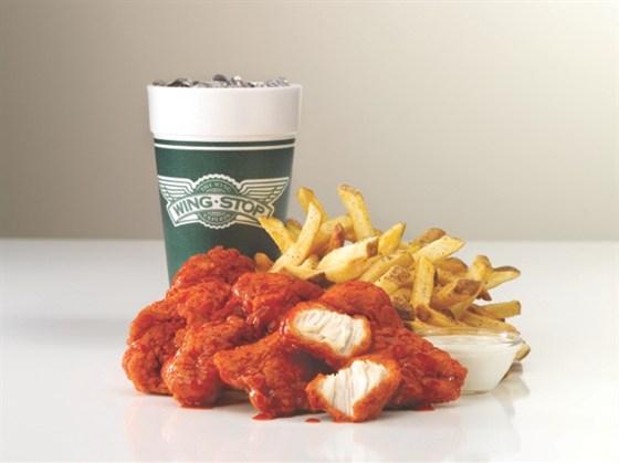 Ресторан Wingstop - фотография 1 - Комбо обеды со скидкой 20% с 12:00 до 16:00