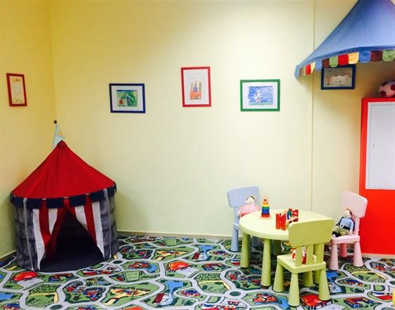 Ресторан Мизолли - фотография 1 - Детский уголок в нашем кафе