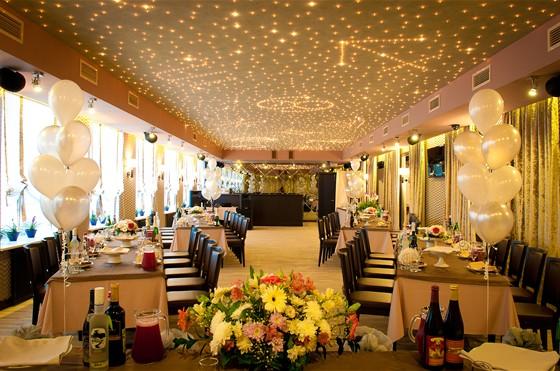 Ресторан Leningrad - фотография 23 - Банкетный зал