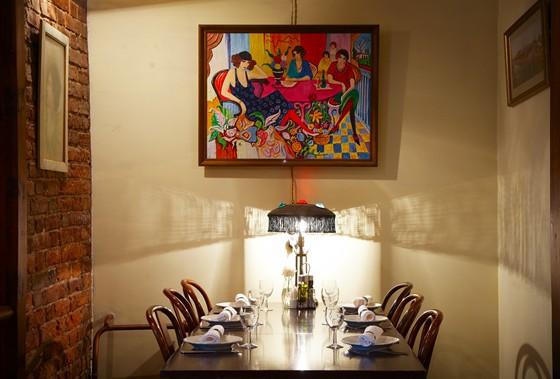 """Ресторан Адмиралтейство - фотография 2 - интерьер ресторана """"Адмиралтейство"""""""