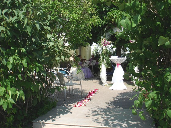 "Ресторан Биргарден - фотография 2 - Выездная регистрация брака в ресторане ""Биргарден"""