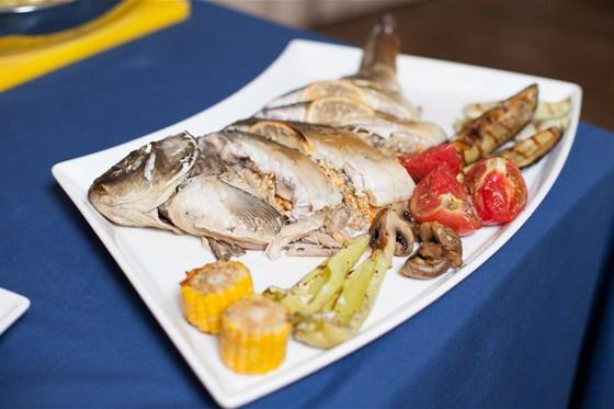 Ресторан Променад  - фотография 8 - приготовление блюд на банкет