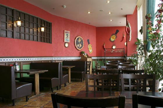 Ресторан Панчо-пицца - фотография 1 - Зал