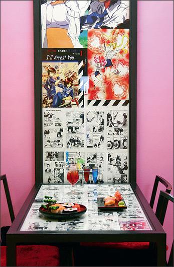 Ресторан Аниме и манга - фотография 2