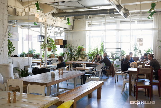 Ресторан Зеленая комната - фотография 8