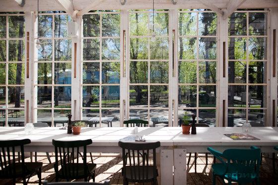 Ресторан Теплица в Нескучном саду - фотография 23