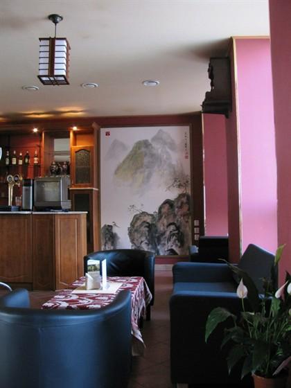 "Ресторан Фен шуй - фотография 2 - Картина ""Горы"", художник: Сун Жуй (Song rui)"