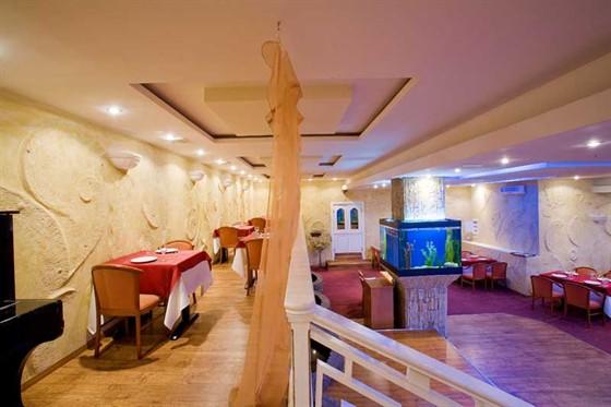 Ресторан Золотой ананас - фотография 2 - Большой зал