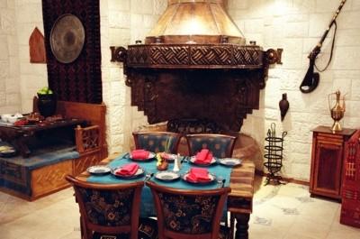 Ресторан Кэф - фотография 4 - Восточный зал