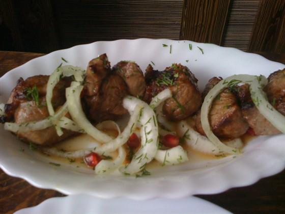 Ресторан Чито-Ра - фотография 14 - Шашлык из баранины