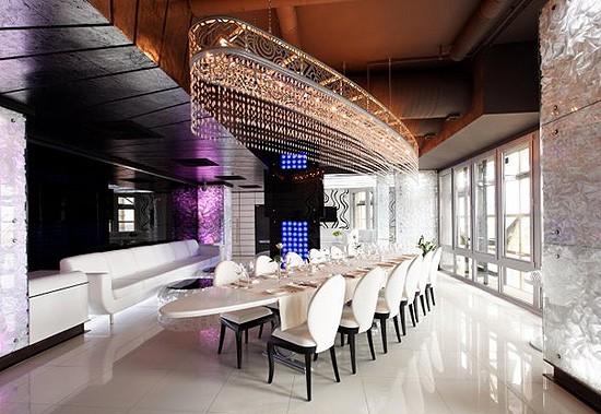 Ресторан Sky Lounge - фотография 11 - Sky Lounge Пентхаус 23 этаж