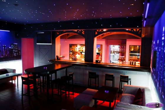 Ресторан Barmania - фотография 2 - Интерьер бара